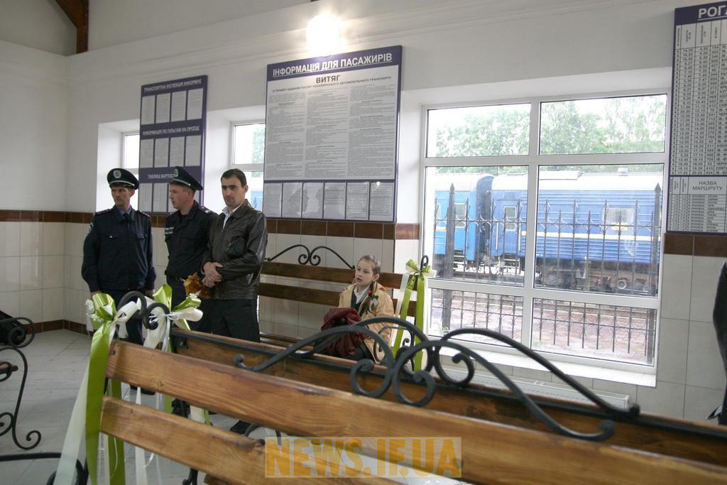 Франківську новий автовокзал фото