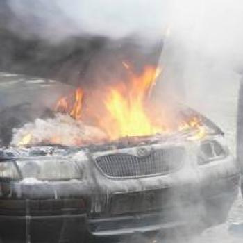 В івано франківську підпалили
